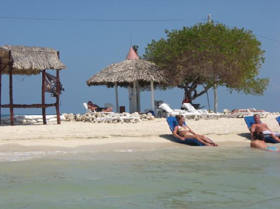 Decameron Isla Palma : palapa sur la plage