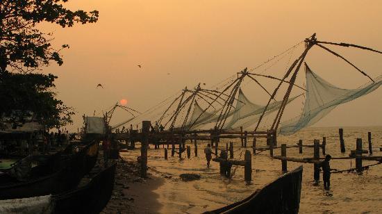Índia: Fishing in Kochi