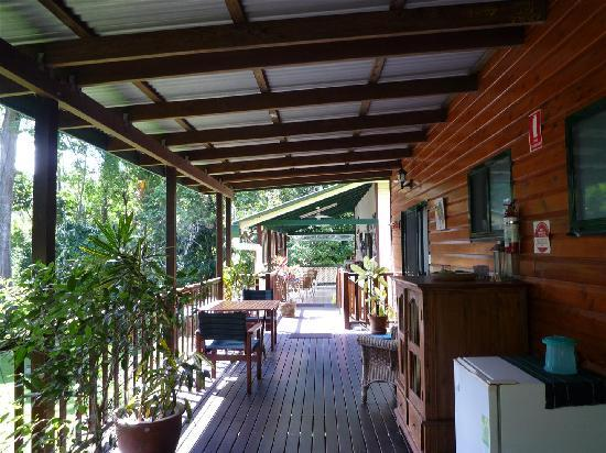 Red Mill House in Daintree: Verandah