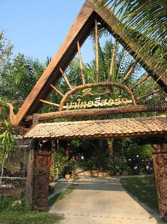 Na-Thai Resort: l'entrée