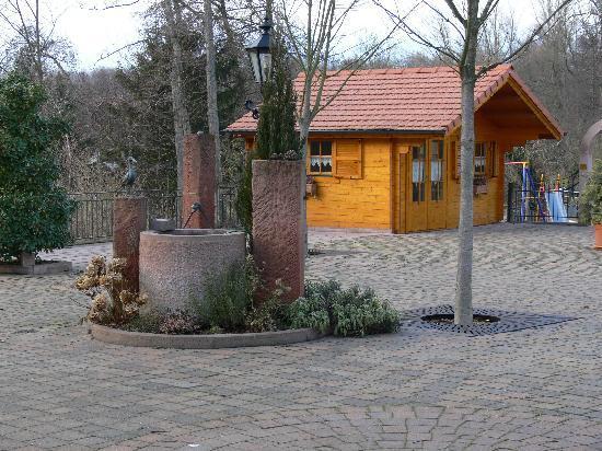 Scheibenhardt, Deutschland: Biergarten