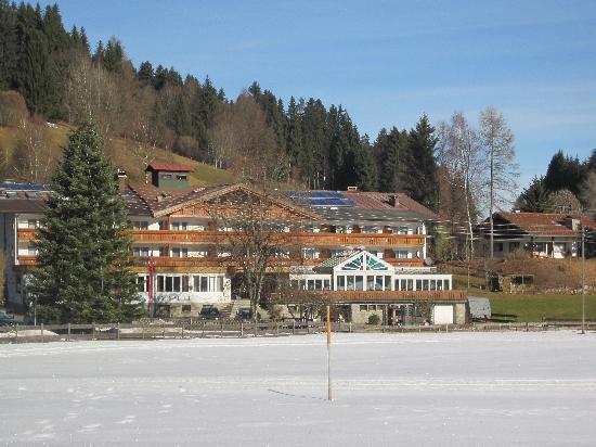 Fischen im Allgau, Allemagne : Hotel Sonnenbichl am Rotfischbach