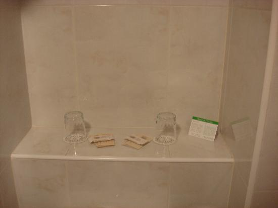 Hotel L'Ermita: All set for the shower