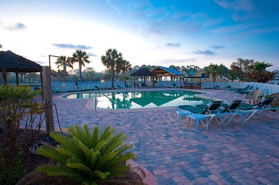 Carrabelle, Floryda: Pool Area