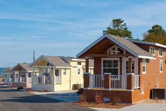 Carrabelle, Флорида: RVC Resort Cottages