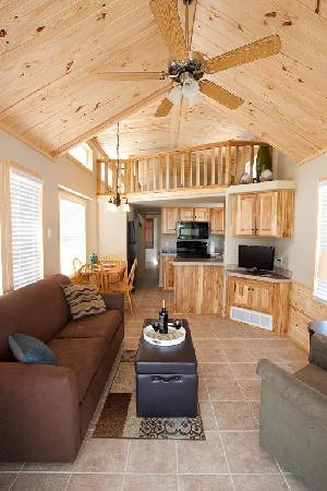 Carrabelle Beach, an RVC Outdoor Destination: Interior View Cottages