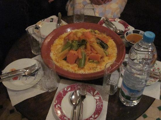 Dar Dada Mouss: The best couscous tagine we have ever sampled