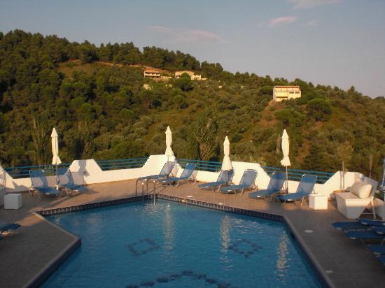 Xanthi Studios: View from pool bar