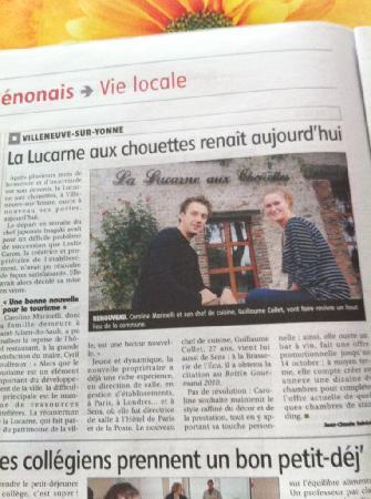 La Lucarne aux Chouettes : Nouvelle propriétaire