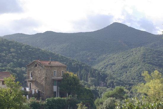Le Clos Ficarella: Cauro, village entouré de montagnes