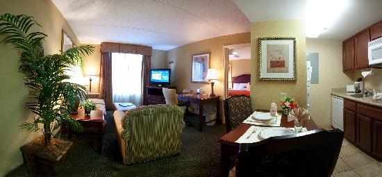 Homewood Suites by Hilton Lexington : One Bedroom King Suite