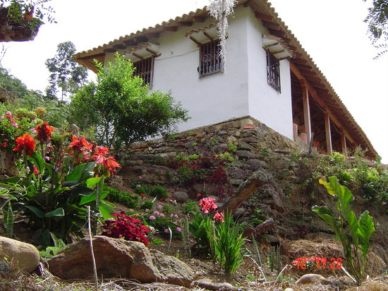 Posada San Javier: A s+olo 11 Kl. de Villa de Leyva