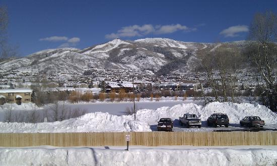 Holiday Inn Steamboat Springs : View from our balcony