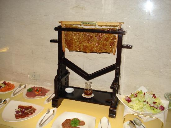 Sheraton Grand Taipei Hotel: ottima idea x raccogliere il miele