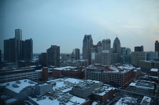 Greektown Casino Hotel: View from room