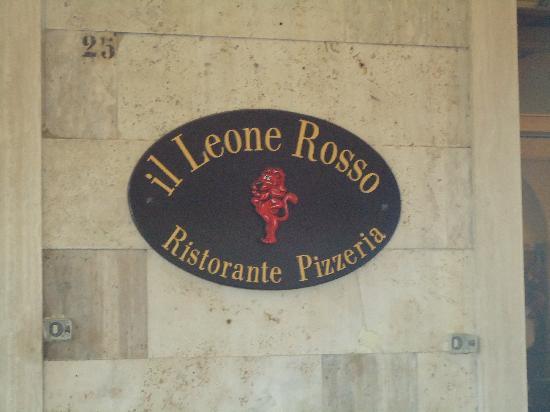Il Leone Rosso Ristorante Pizzeria: Il Leone Rosso Ristorante
