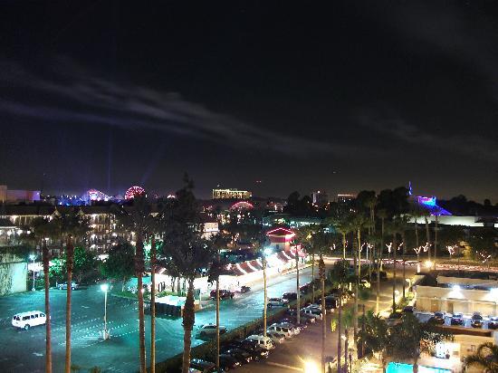 Fairfield Inn Anaheim Resort: pretty good view from the 9th floor