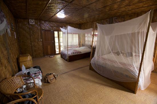 Muang Sing, Laos: basic room