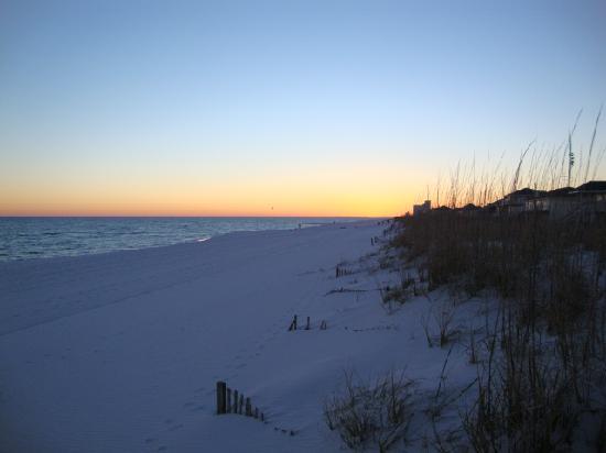 Sandestin, فلوريدا: wow quel coucher de soleil