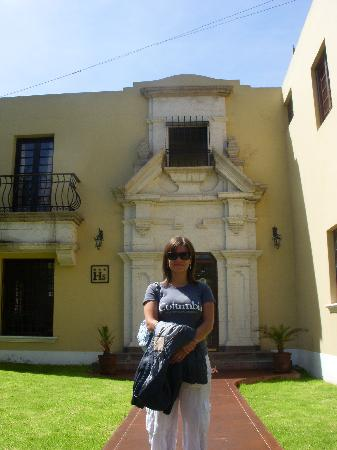 Hotel Villa Del Carmen : fachada del hotel