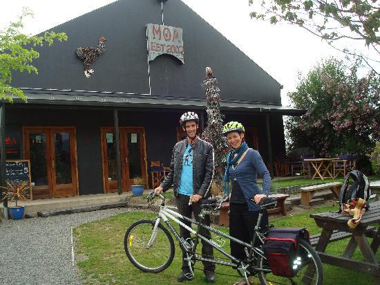 Bike 2 Wine : At Moa Brewery
