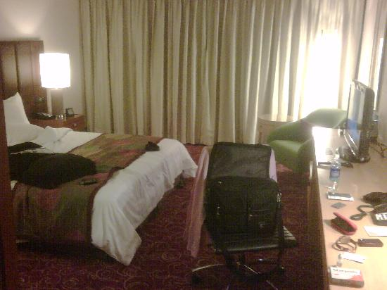Courtyard Hyderabad: View of Bed