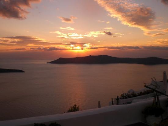 Dreams Luxury Suites: Sunset from Villa