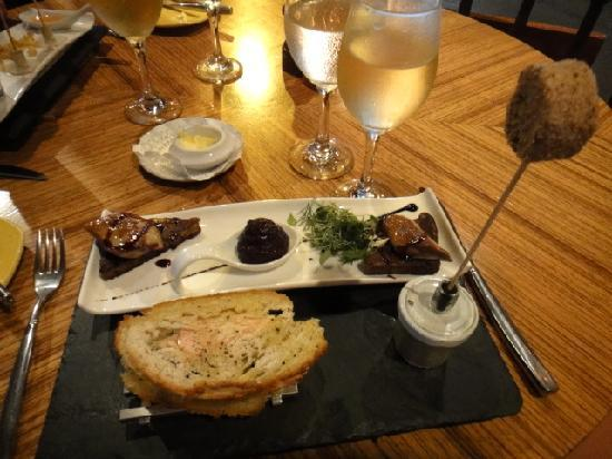Le Cottage: Fois Gras 3 Ways