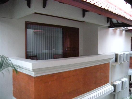 White Rose Kuta Resort, Villas & Spa: Balcony view