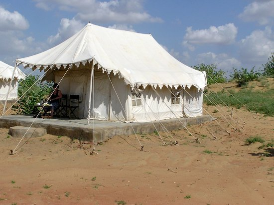 Camp Dera Eco : Our tent
