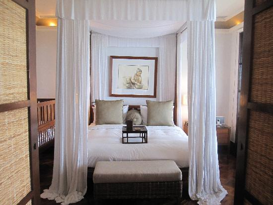 The Legian Bali : ベッド