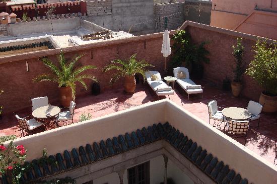 Riad Altair: terrasse
