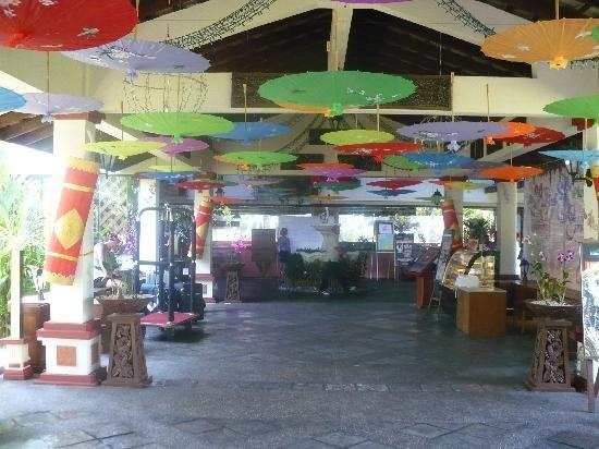 Federal Villa Beach Resort : The lobby