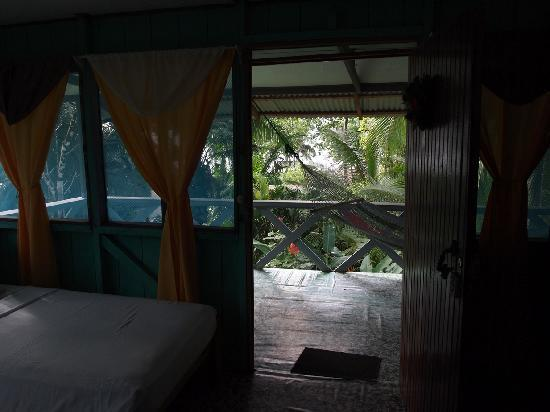 Osa Peninsula, คอสตาริกา: Poor Mens - View from the room