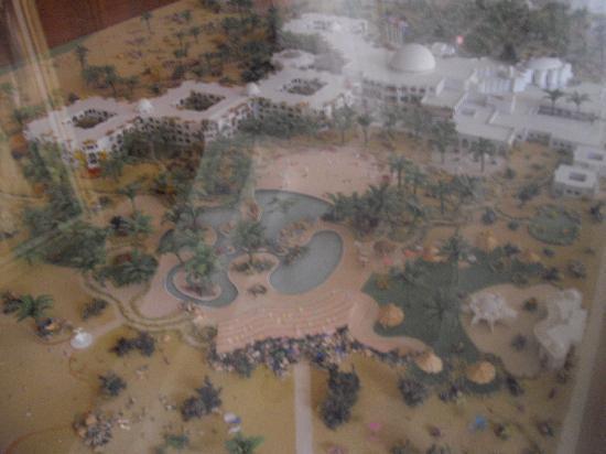 Djerba Plaza Hotel & Spa : maquette hotel