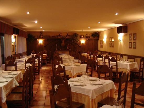 Hotel El Rebeco: O restaurante