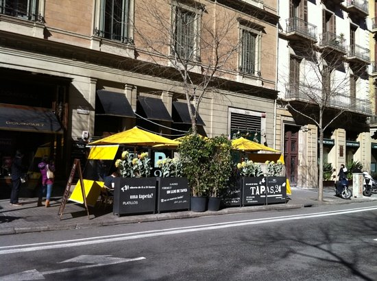 View of Tapas 24 from the street