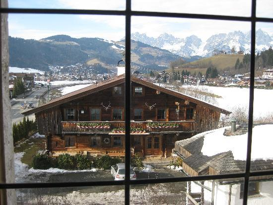 Reith bei Kitzbuehel, Austria: View from hotel room