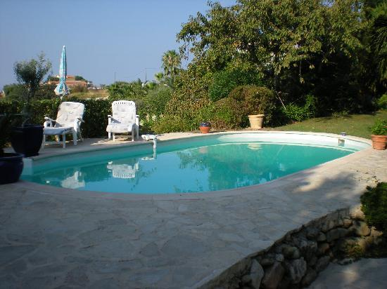 Villa Hestia : La piscina