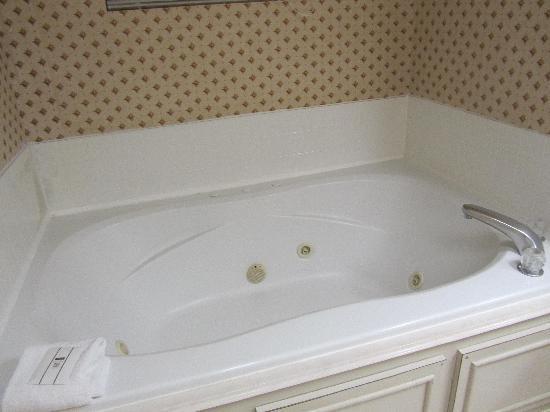 AmericInn Hotel & Suites Indianapolis: tub!