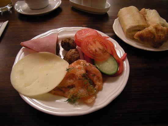 Hotel Bern: 朝食