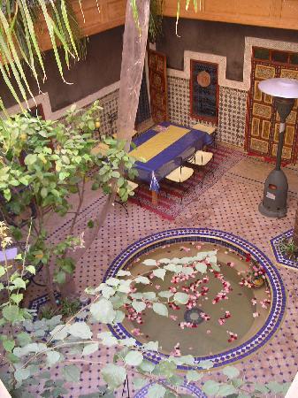 Riad Zara : Her kan tages fodbad efter en lang dag