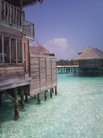 Gili Lankanfushi Maldives: bungalow from another angle