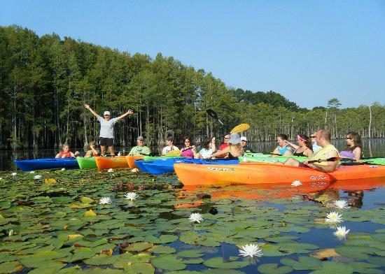 Gürcistan: Kayaking near the Okefenokee Swamp, taken by Mill Pond Kayak