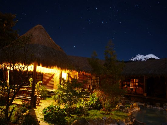 Termas de Papallacta: Hotel Night View