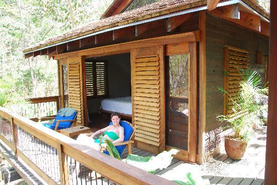 Aqua Wellness Resort: Balcony in Villa