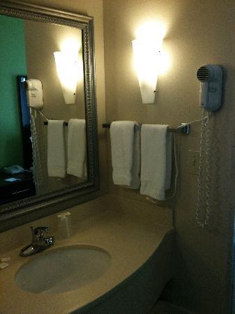 Country Inn & Suites By Carlson, Cedar Rapids North: Bathroom