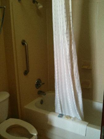 Country Inn & Suites By Carlson, Cedar Rapids North: Shower