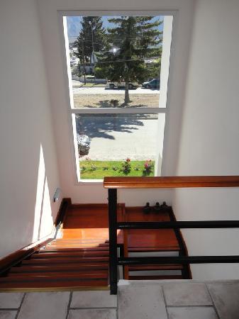 Hotel Sur Sur: Las escaleras con vista