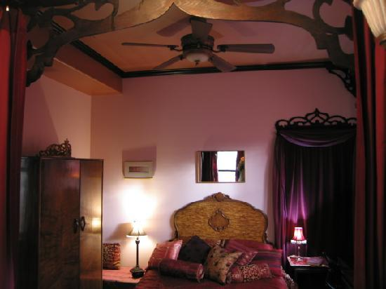 Bellaterra Bed and Breakfast : Scheherazade Room from Tub Alcove